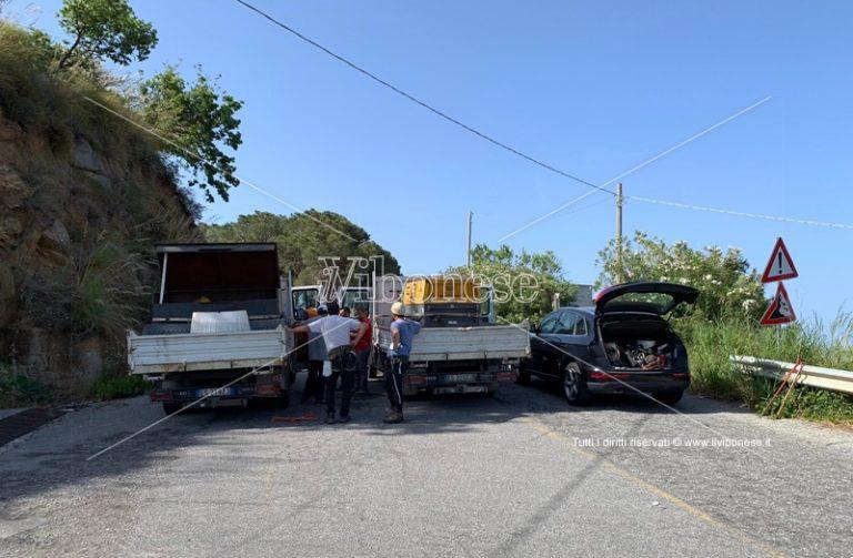 Strada del Mare chiusa: al via i lavori per la riapertura