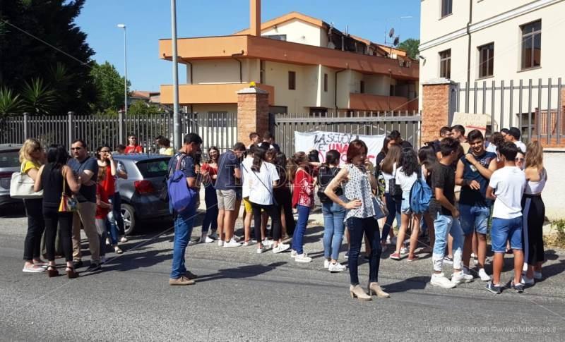 liceo scientifico berto protesta studenti 1