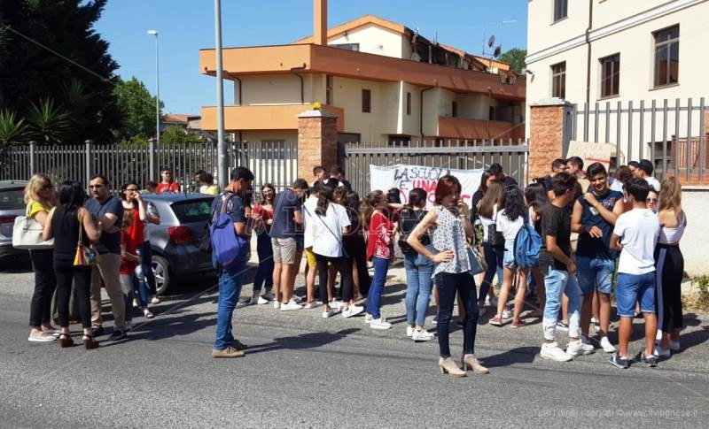 liceo scientifico berto protesta studenti 1