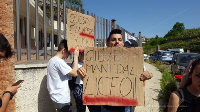 liceo scientifico berto protesta studenti 2