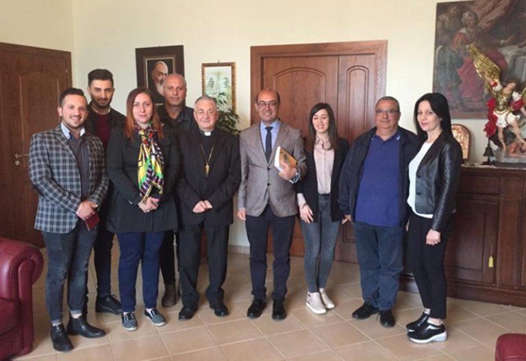 Mileto: sindaco e consiglieri in visita dal vescovo Renzo