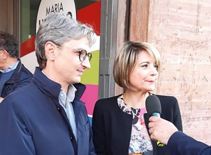 Giuseppe Mangialavori e Maria Limardo