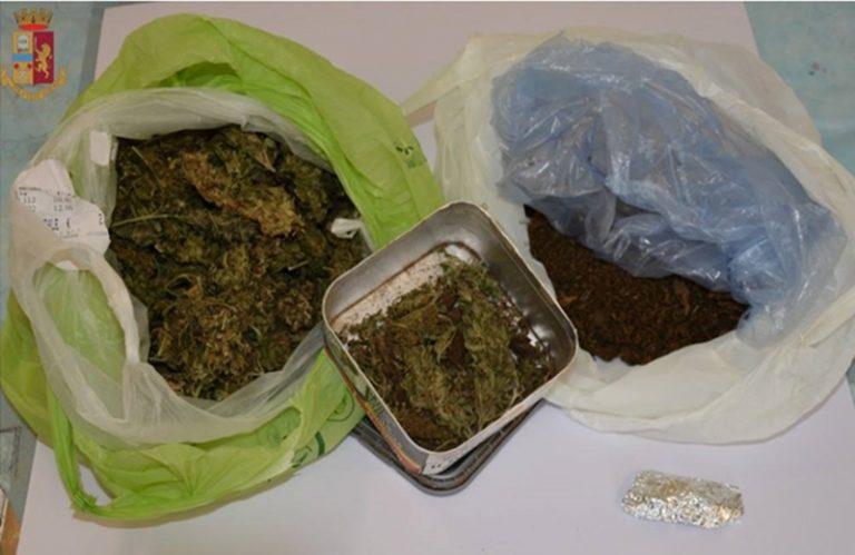 Detenzione ai fini di spaccio di marijuana, un arresto a Stefanaconi