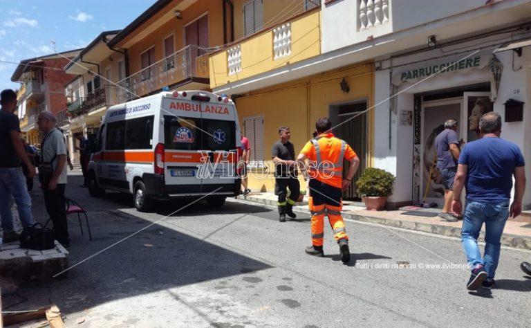 Fuga di gas e incendio a Paravati di Mileto, un ferito – Video