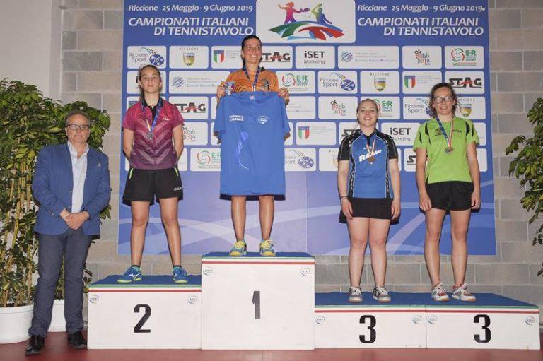 Tennistavolo, Miriam Carnovale a un passo dal titolo italiano di terza categoria