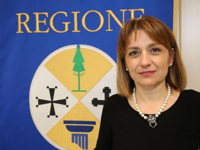 Angela Robbe, assessore regionale al Lavoro
