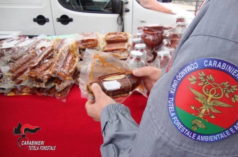 Salumi e formaggi privi di tracciabilità, pesanti sanzioni al mercato di Serra San Bruno