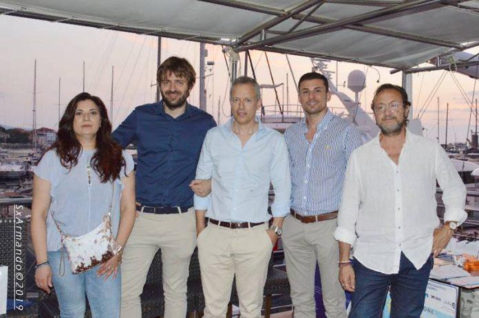 L'iniziativa al porto di Vibo Marina (foto Armando Biblioteca)