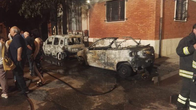 tropea incendio auto 2