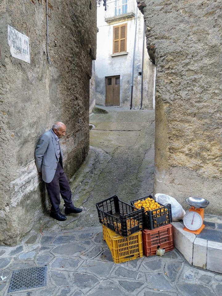 """""""Il venditore di Nespole"""", la foto diventata virale scattata da un vibonese"""