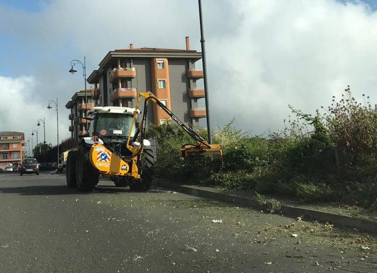 Vibo, il Comune avvia la pulizia straordinaria della città