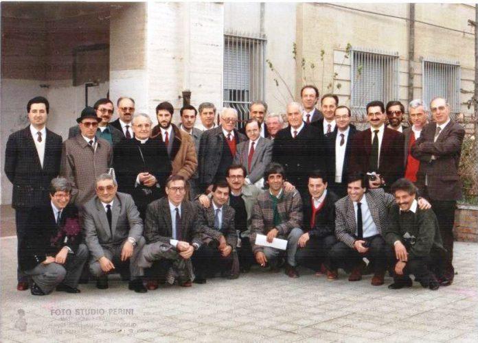 I presenti al ventennale del 1989