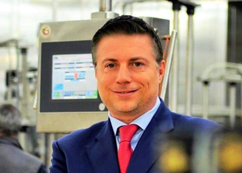 Il presidente Sebastiano Caffo