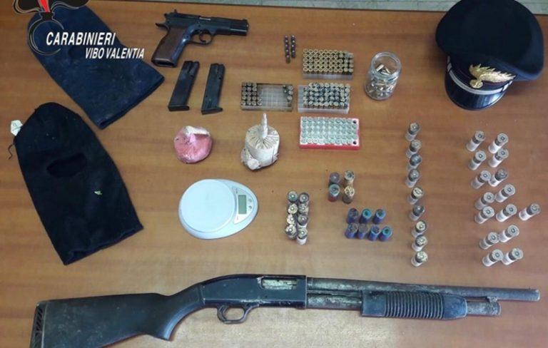 Armi, munizioni ed esplosivo rinvenuti a Cessaniti – Video