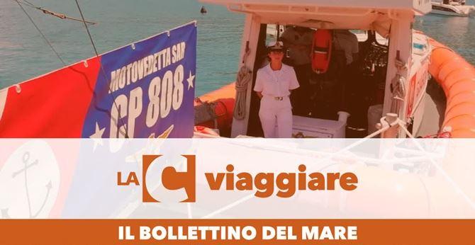 """Da venerdì in onda """"Il bollettino del mare"""" di Guardia Costiera e LaC"""
