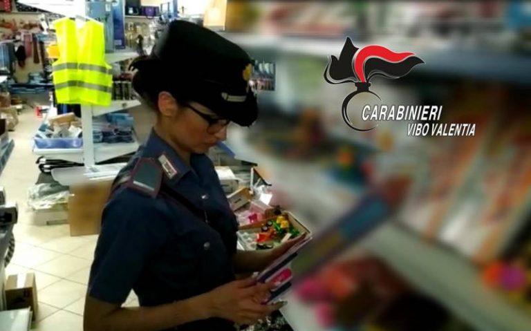 Blitz di carabinieri e Gdf nei negozi di Serra, 22mila euro di multa e una denuncia