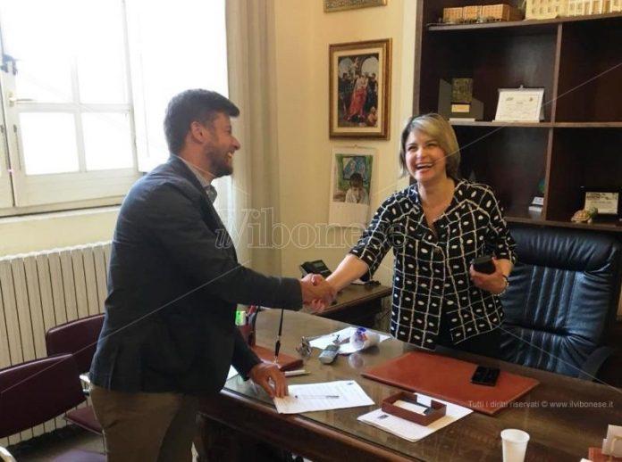Michele Falduto e Maria Limardo