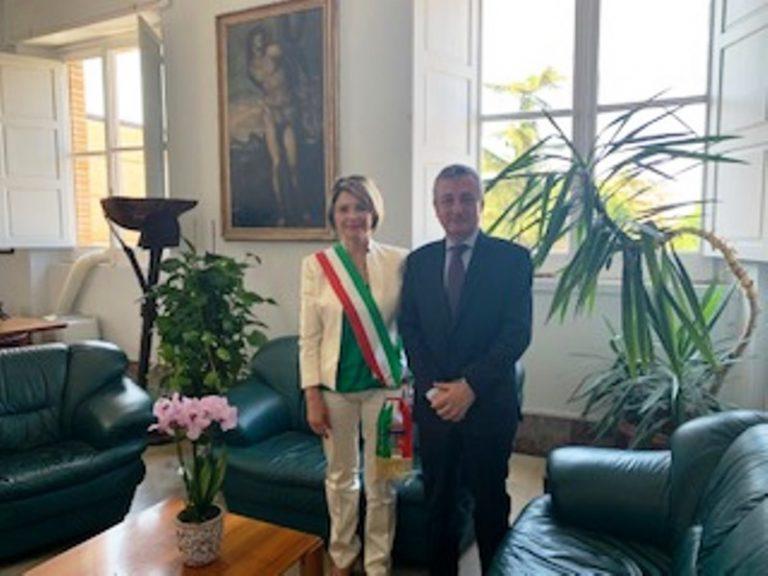 Il prefetto Francesco Zito in visita istituzionale al Comune di Vibo