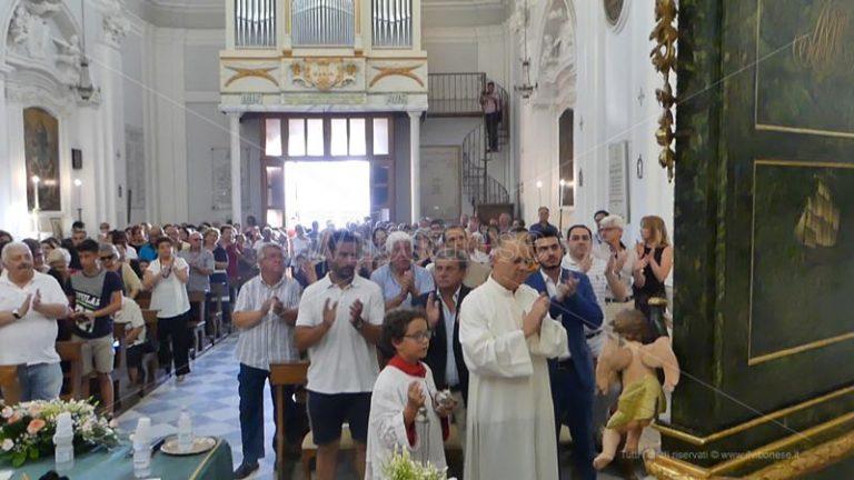 Parghelia in festa, restaurata la Vara della Madonna di Portosalvo – Video