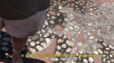 Incendio chiosco a Vibo, minacciato un nostro cronista: «Vattene da dove sei venuto» – Video