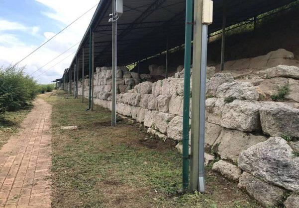 Le Mura greche a Vibo