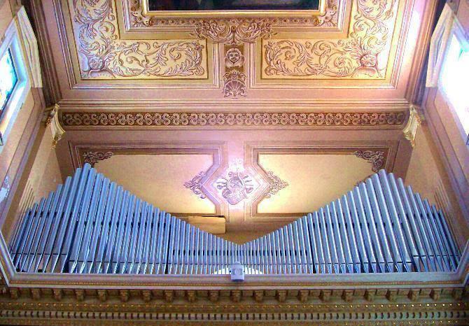 L'antico organo di Vallelonga