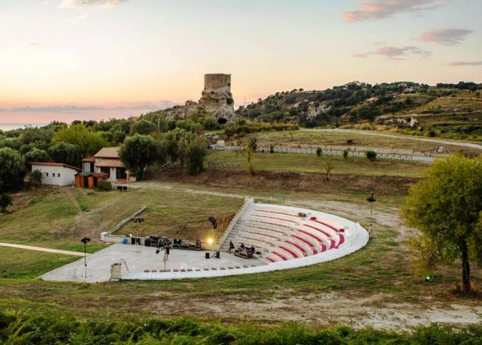 Il teatro Marrana (foto Domenico Scordia)
