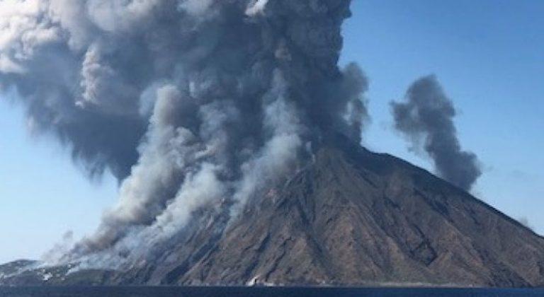 Esplosione del vulcano Stromboli, un morto ed un ferito