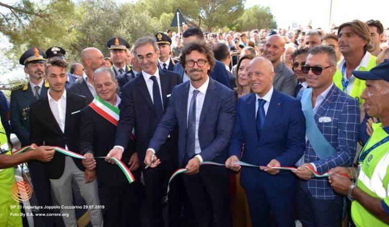 """""""Strada del mare"""" e polemiche, Oliverio: «Toninelli inaugura opera della Regione» – Video"""