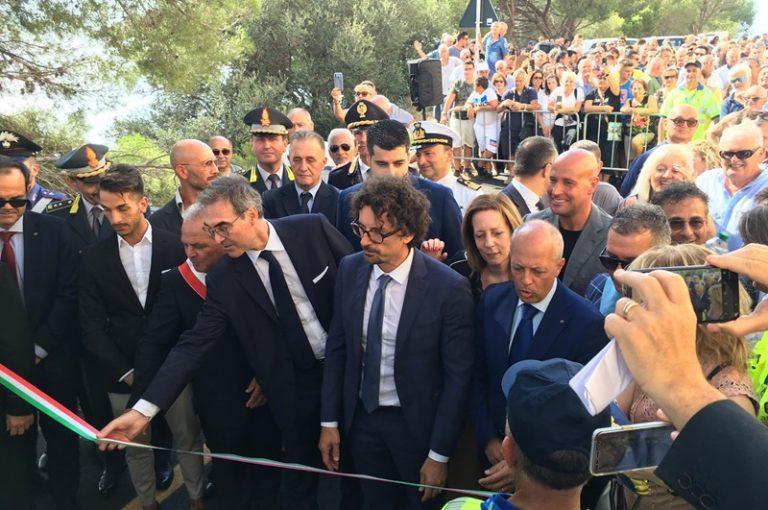 Strada del mare, Toninelli arriva nel Vibonese per un sopralluogo