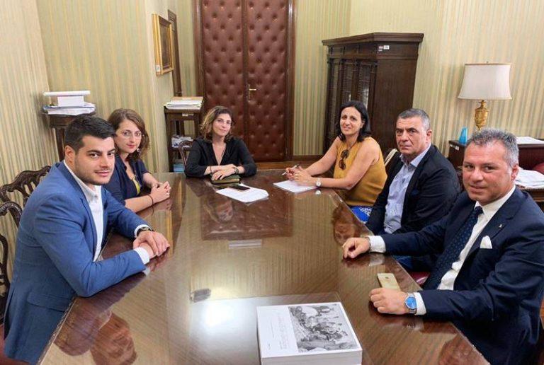 Provincia di Vibo: Tucci, Nesci e Solano incontrano il viceministro Laura Castelli – Video