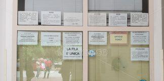 L'ufficio ticket chiuso a Moderata Durant