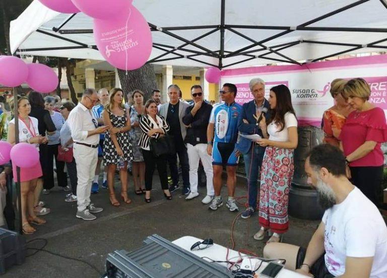 """""""Vibo in rosa"""", in marcia e in bici per la lotta al tumore al seno"""