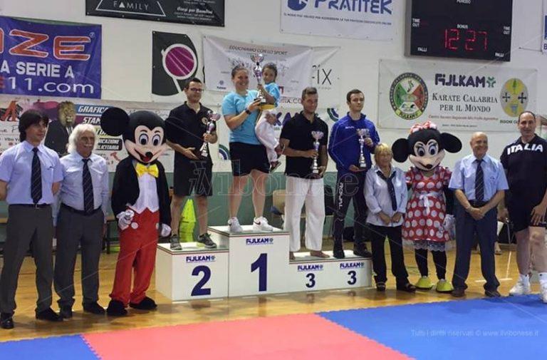 Karate, la Virtus Vibo prima assoluta al Trofeo Athlon di Cetraro