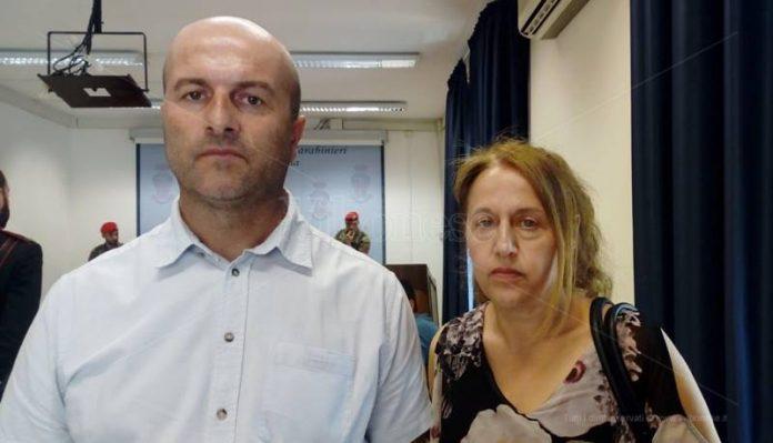Vito Mastrandrea e la moglie Lucia