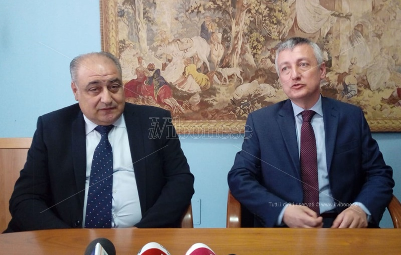 Carmelo Zappia e il prefetto Francesco Zito