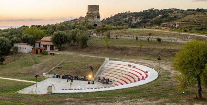 L'anfiteatro di Torre Marrana (foto Scordia)