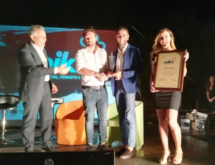 La premiazione di Totò Schillaci