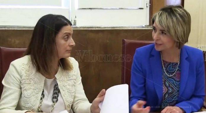 L'assessore Nardo e il sindaco Limardo