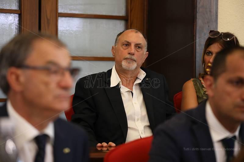 Domenico Santoro in consiglio comunale