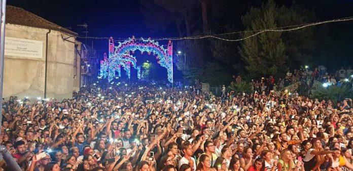 La folla al concerto di domenica