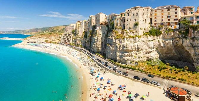 La spiaggia più famosa di TRopea