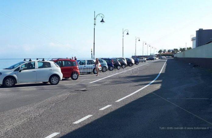 Via Vespucci e i nuovi parcheggi