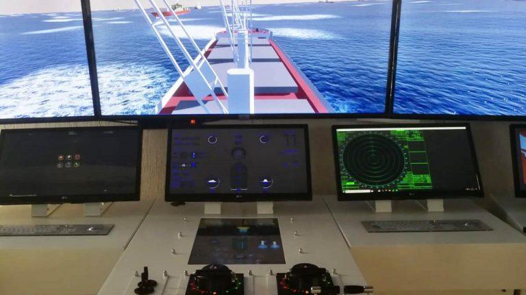 Il Nautico di Pizzo si dota di un ultramoderno simulatore di plancia di nave