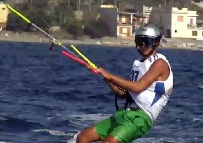 Kite surf, il Circolo Velico Santa Venere sul tetto d'Italia con Flavio Ferrone