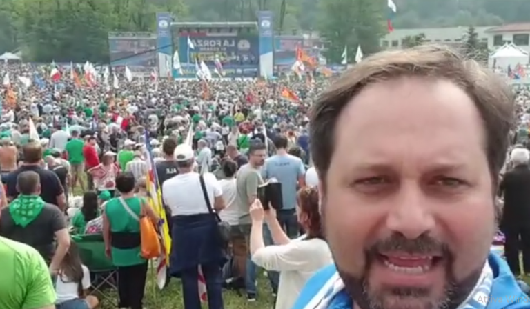 Raduno nazionale della Lega a Pontida, Vibo risponde presente – Video