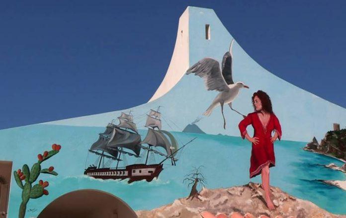 Uno dei murales realizzati nelle precedenti edizioni