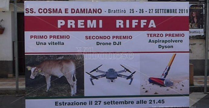 Riffa con vitella a Brattirò, la popolazione si divide – Video