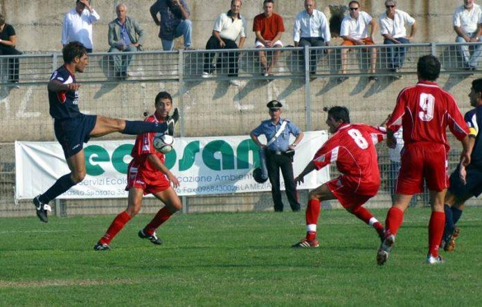 La sfida tra Vibonese e Rende giocata a Ricadi
