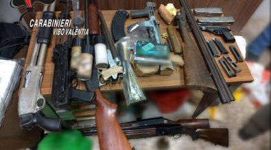 Armi e munizioni sequestrate dai carabinieri a Vibo e Piscopio – Video